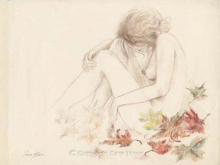 Nude Sketch No.2 by Sara Moon