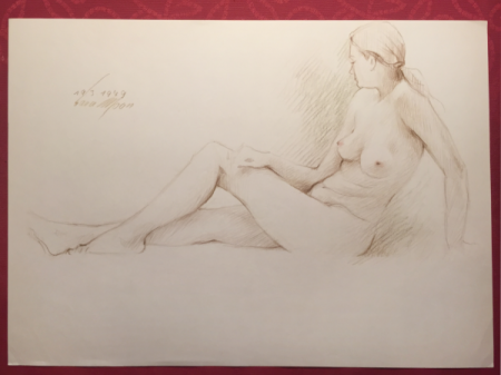 Nude Sketch 193-1979 by Sara Moon