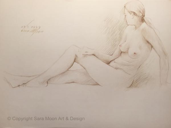 Nude 193-1979 by Sara Moon