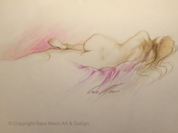 Reclining Nude No.2 by Sara Moon