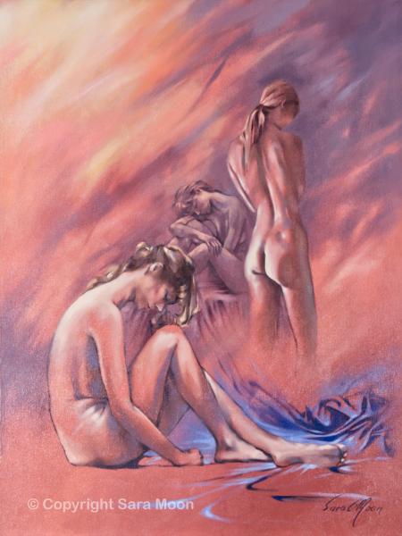 'Relaxing Break' by Sara Moon
