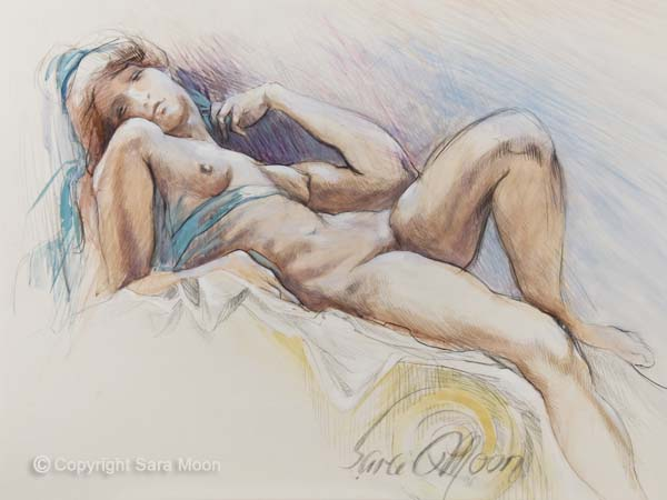 Romanesque Repose by Sara Moon