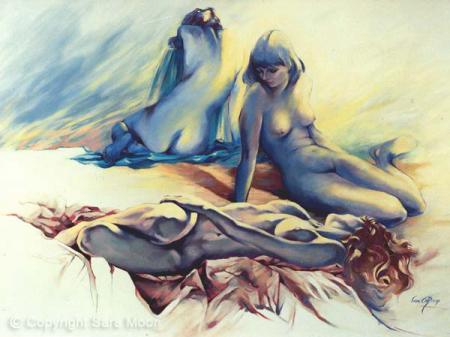 'Triad' by Sara Moon