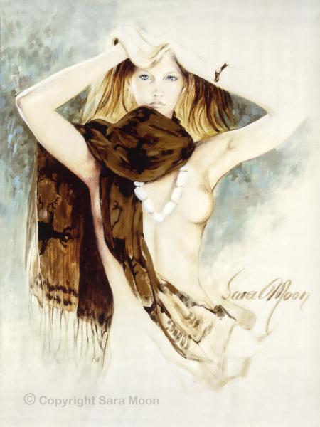 'Tribal Wrap' by Sara Moon