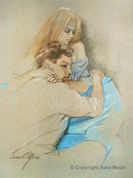'Melancholy Moments' by Sara Moon
