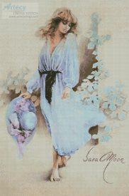 Summer Wind Cross Stitch Pattern by Sara Moon