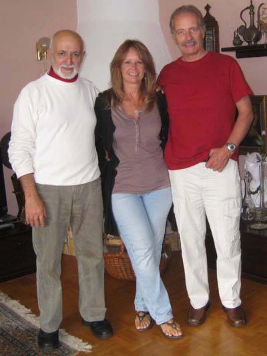 Bijan, D'Ann and me