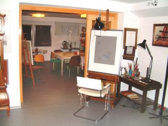 Part of Bijan's Studio