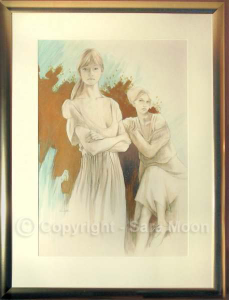 Mother & Daughter by Sara Moon