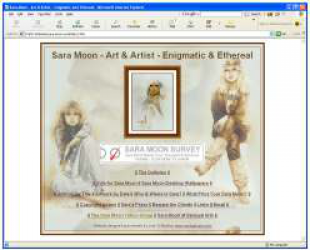 Original Sara Moon Website