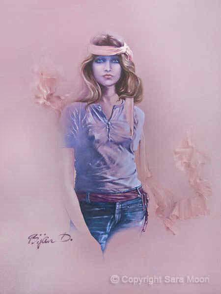 Blue Eyes by Sara Moon
