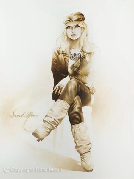 Rocker Girl by Sara Moon
