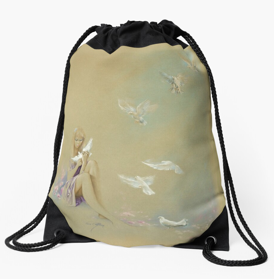 'Freedom' Draw-String Bag at RedBubble