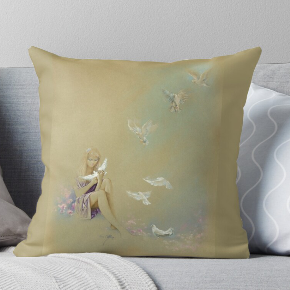 'Freedom' Pillows at Redbubble