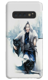 'Girl With Panthers' Tablet & Phone Skins by Sara Moon