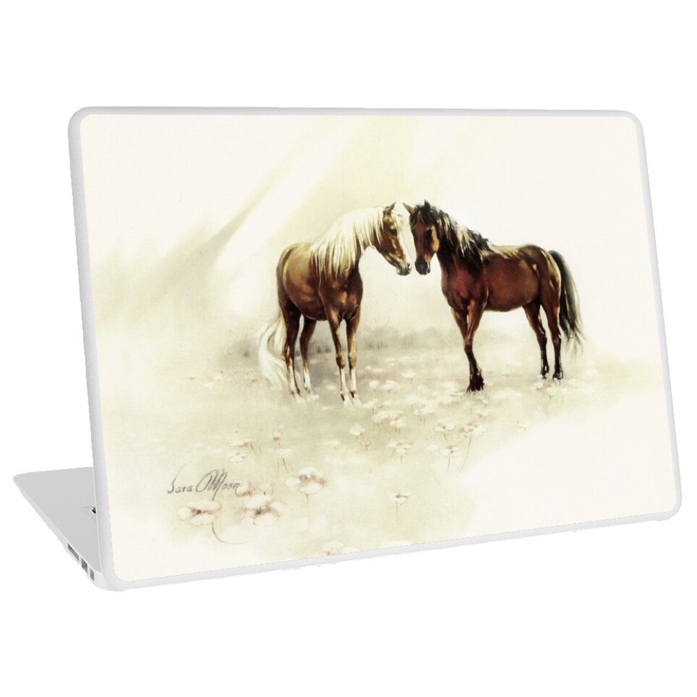 'Horses Meeting' Tablet, Phone