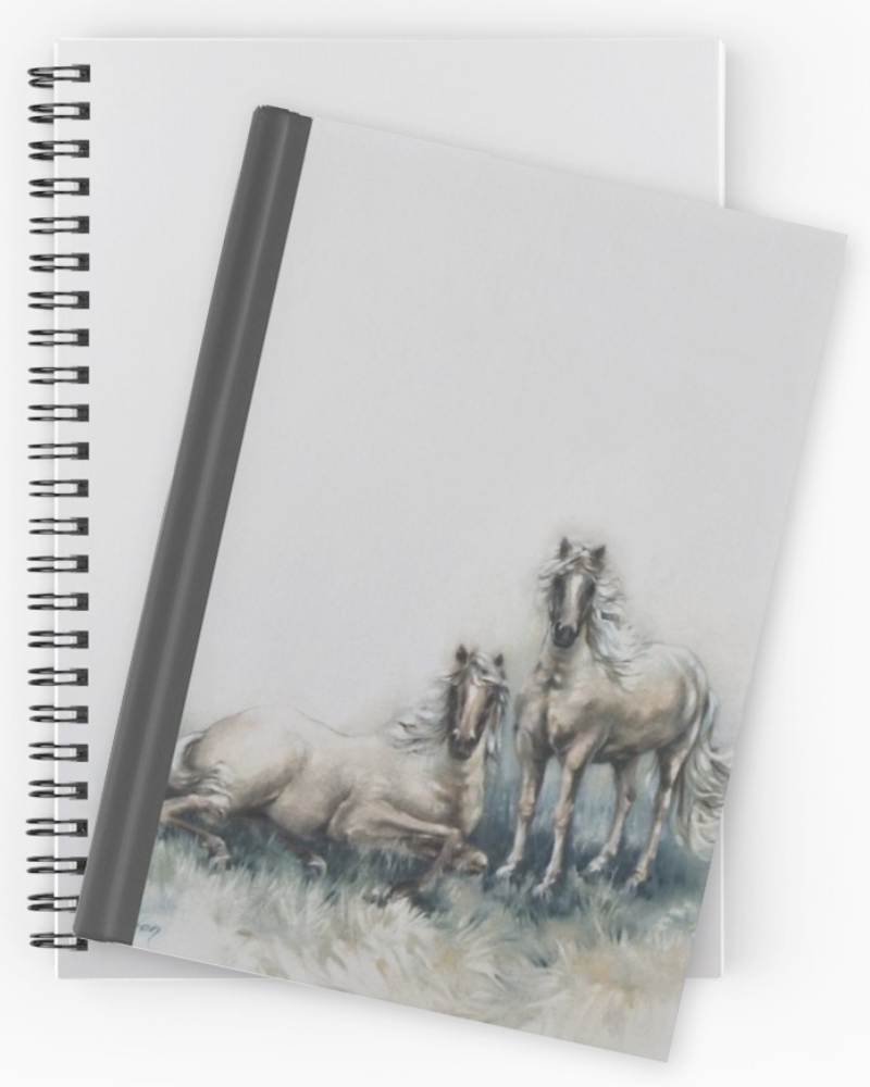 'Lonesome Friends' Notebooks & Journals by Sara Moon