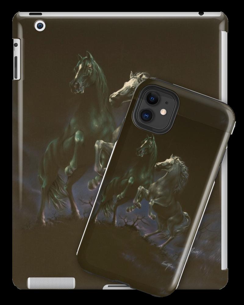 'Moon Dance' Tablet & Phone Skins by Sara Moon