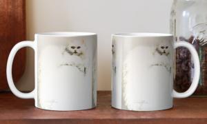 'White Persian Cat' Mugs by Sara Moon