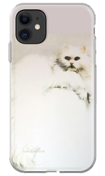 'White Persian Cat' Phone Case by Sara Moon