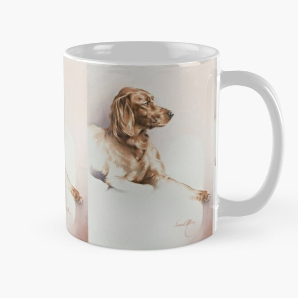 'Red Setter' Mugs by Sara Moon