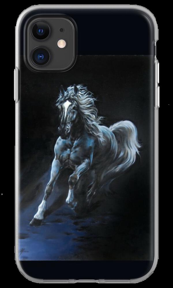 White Stallion Tablet & Phone Skins by SaraMoon