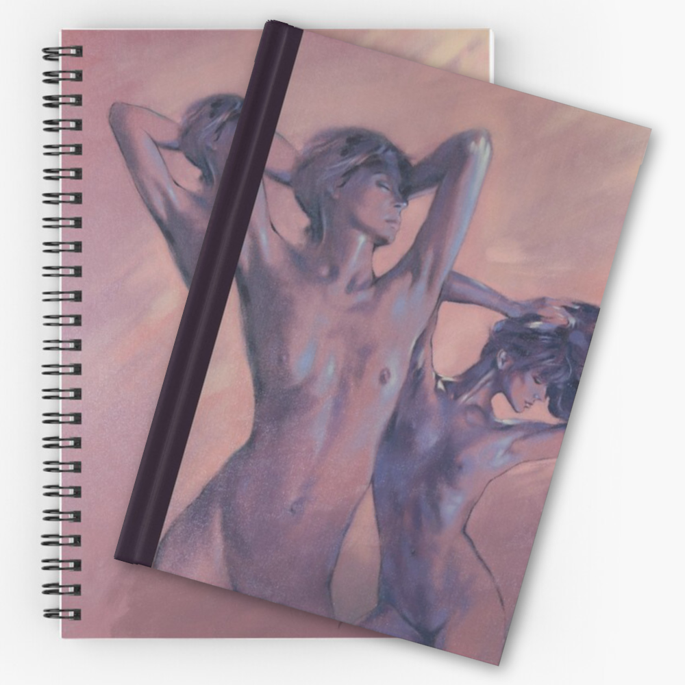'Dancing On The Roof' Notebooks by Sara Moon