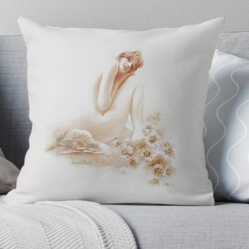'Monique' Pillow by Sara Moon