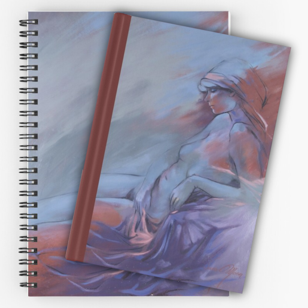 'Reclining Nude' Notepads by Sara Moon