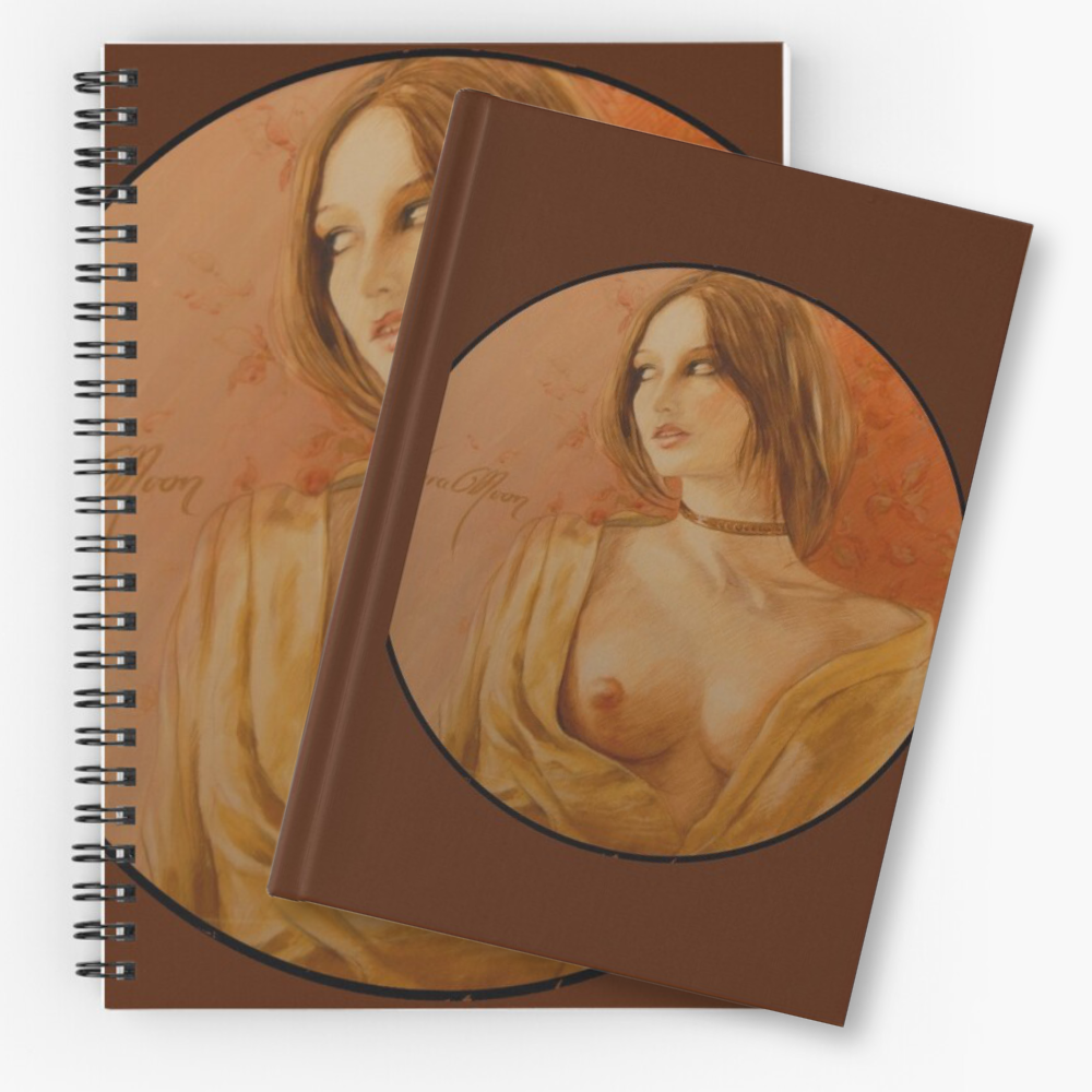 'The Look' Notebooks & Journals by Sara Moon