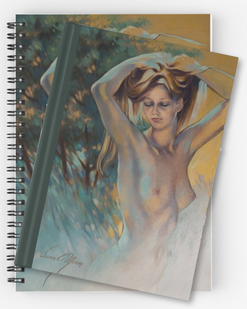 'Woodland Nymph' Notebooks