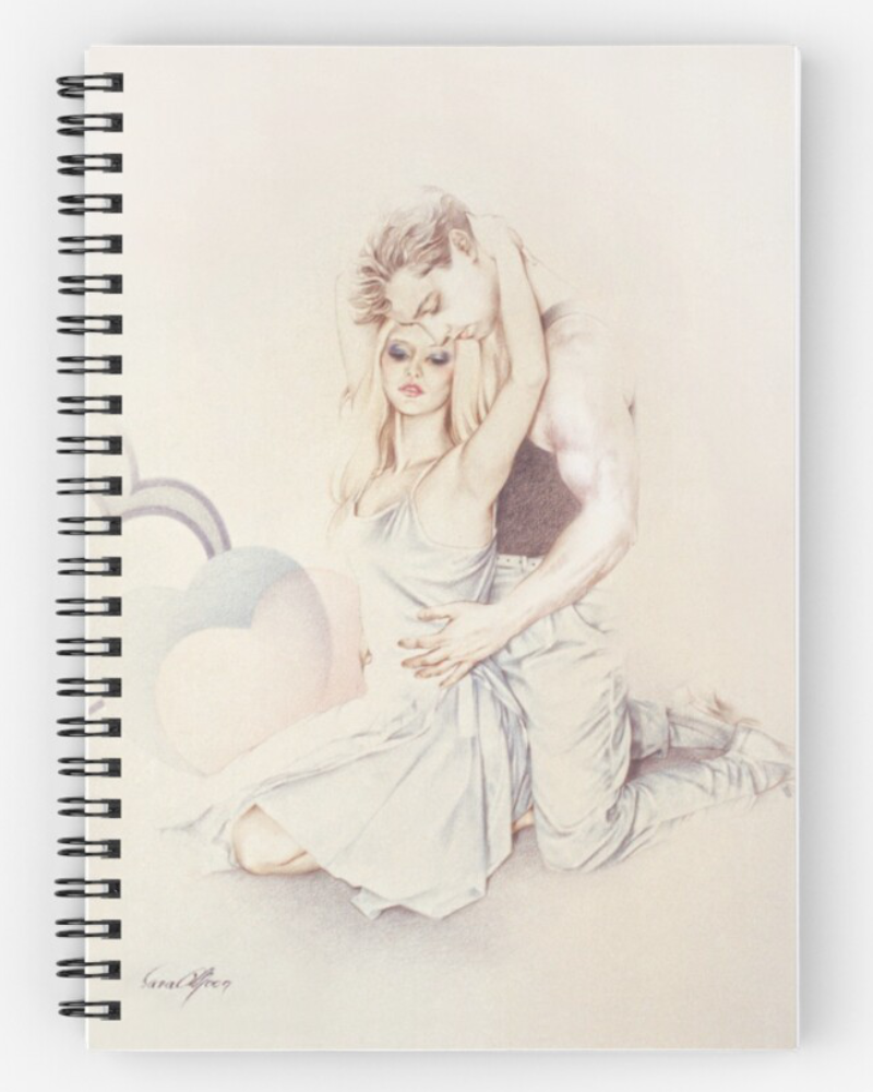 'Affection' Notebook by Sara Moon