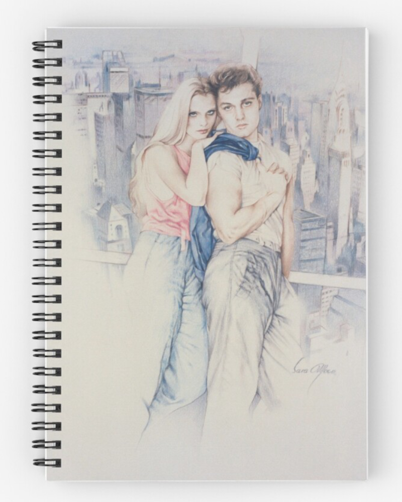 'City Dreamers' Notebook by Sara Moon