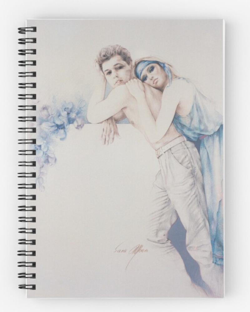 'Gentle Moments' Notebook by Sara Moon