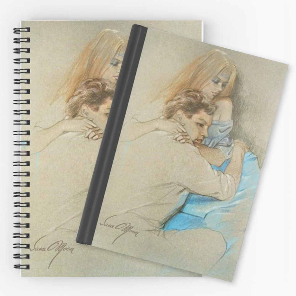 'Pensive' Notepads by Sara Moon