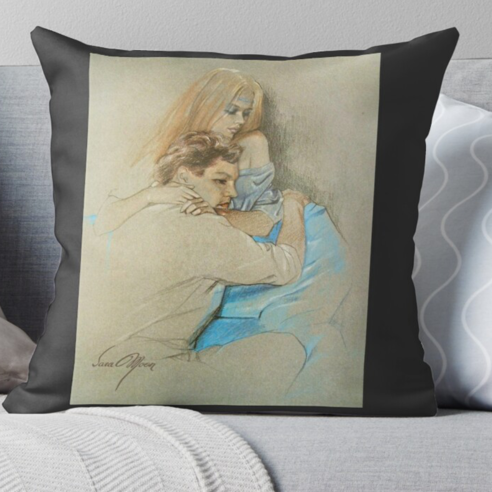 'The Long Farewell' Pillow by Sara Moon