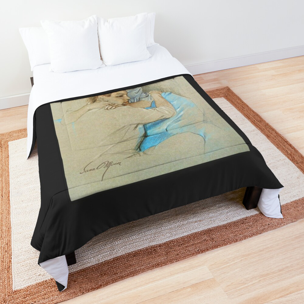 'The Long Farewell' Comforter by Sara Moon