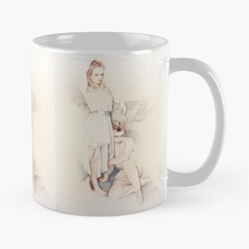'Pensive' Mug by Sara Moon