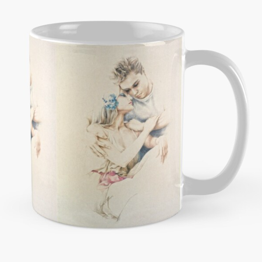Tender Moments Mug by Sara Moon