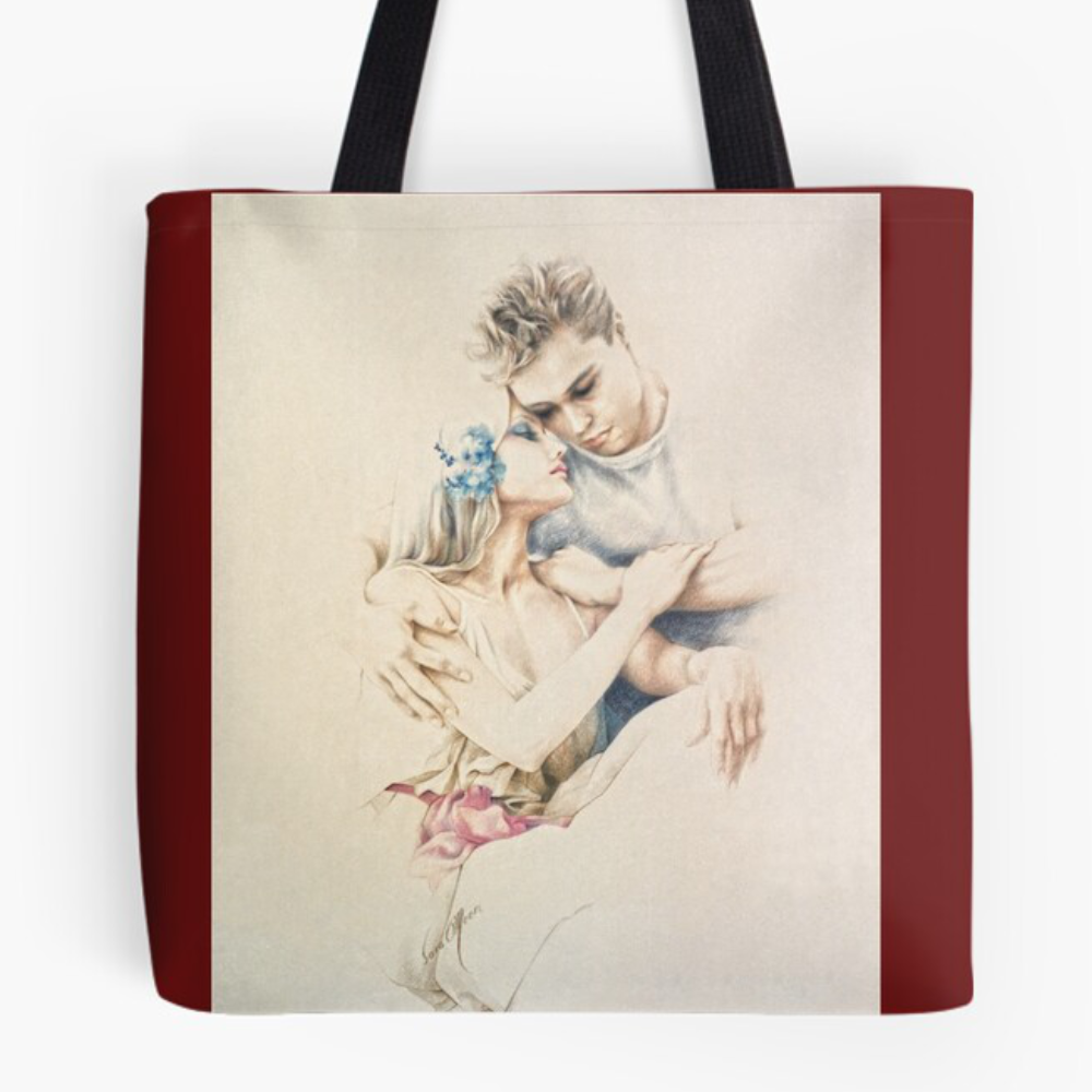 Tender Moments Tote Bag by Sara Moon