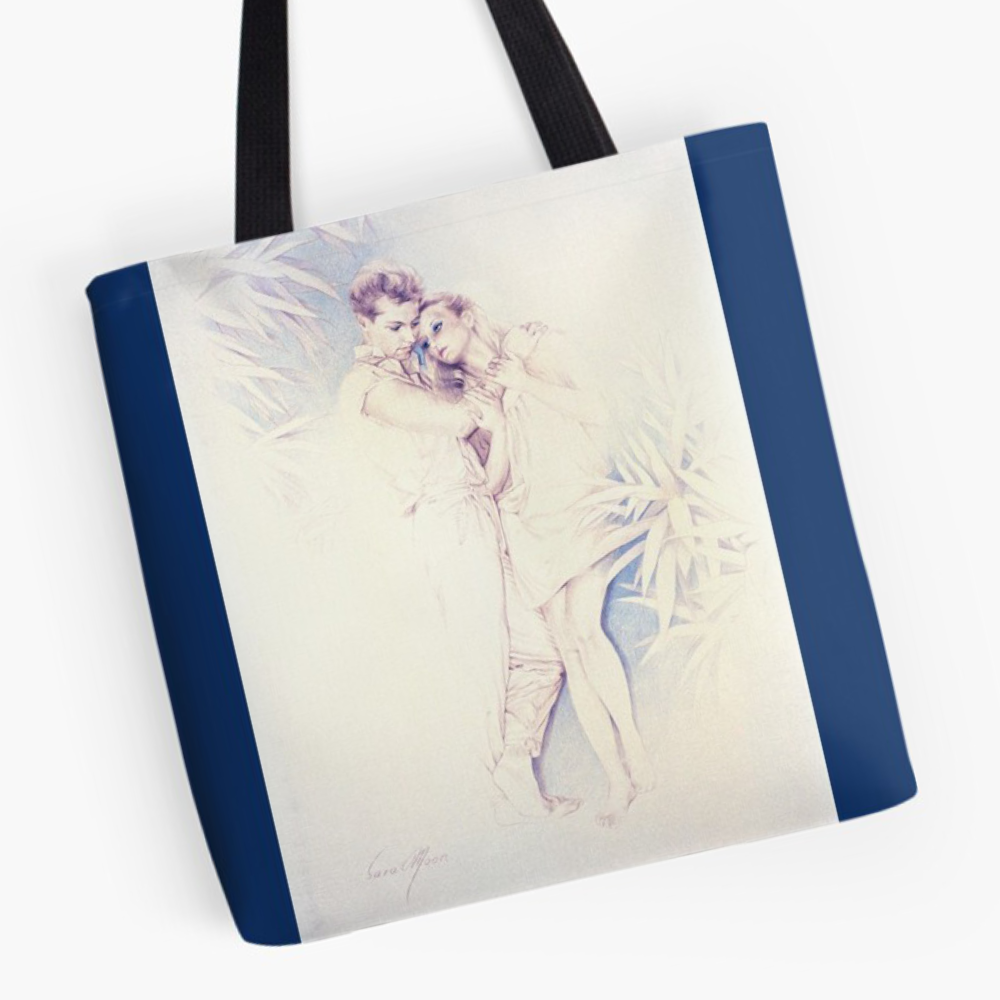 'The Long Farewell' Tote Bag by Sara Moon