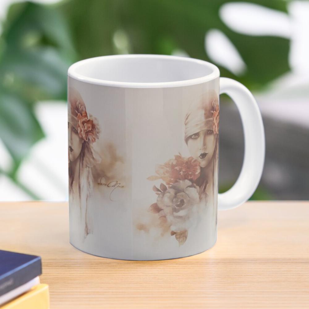 'Claudia' Mugs & Travel Mugs by Sara Moon