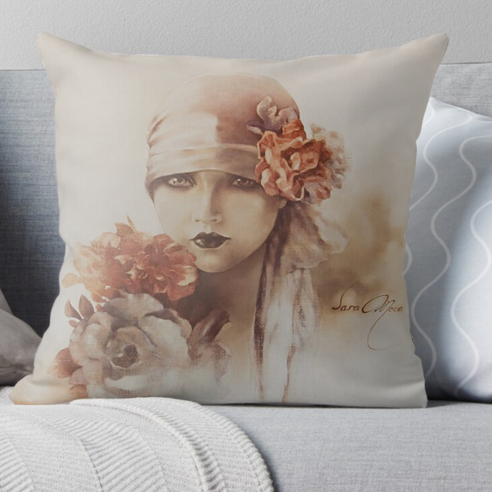 'Claudia' Pillows by Sara Moon