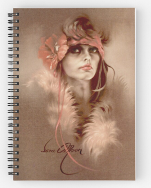 """Illusion"" Notepad by Sara Moon"