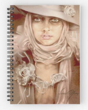 """""""Illusion"""" Notepad by Sara Moon"""
