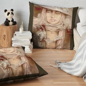 """""""Illusion"""" Pillow by Sara Moon"""