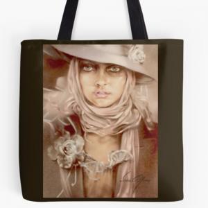 """""""Illusion"""" Tote Bag by Sara Moon"""