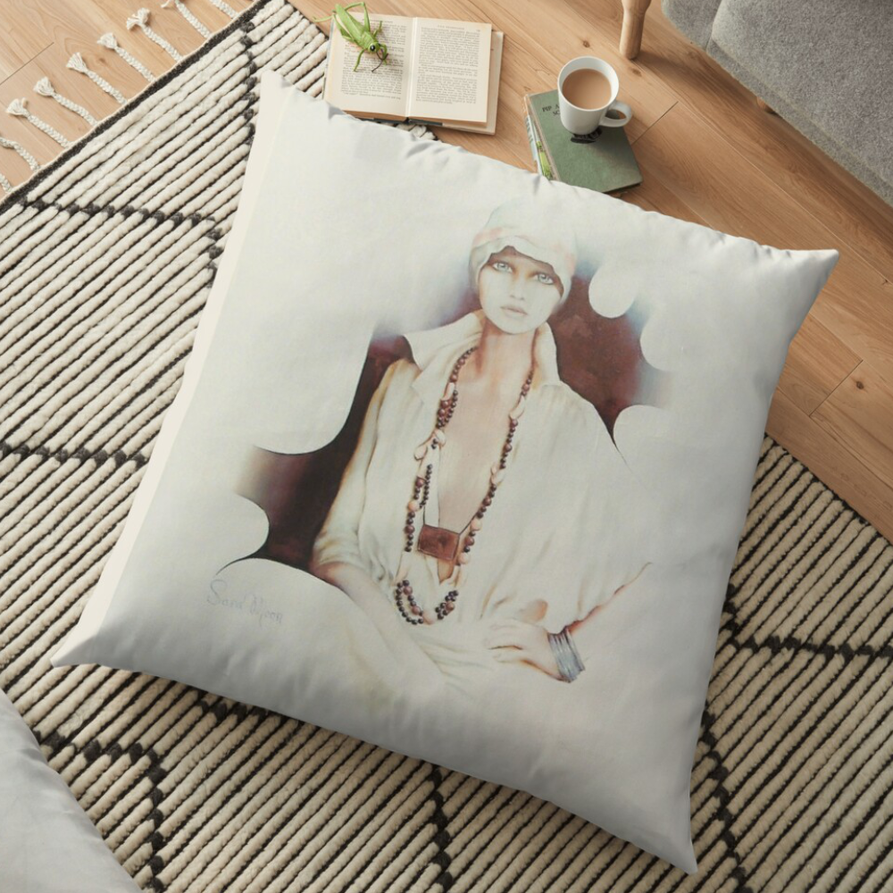 Lisa Pillow by Sara Moon