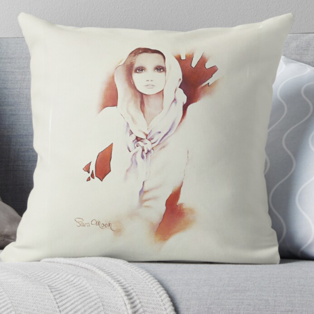'Susan' Pillow by Sara Moon