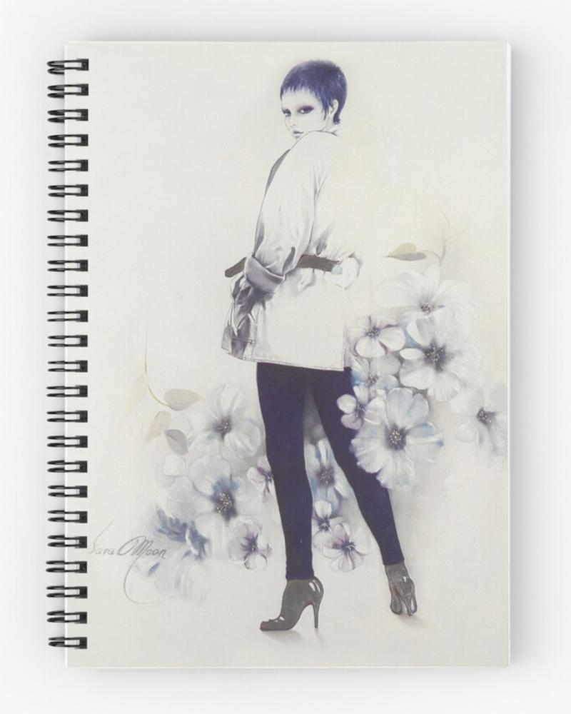 'Girl Next Door' Notepad by Sara Moon